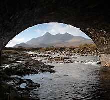Black Cuillin Hills by Christopher Cullen