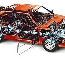 Audi Quattro by CarverGeeker