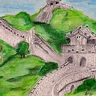 Great Wall by lorileeg