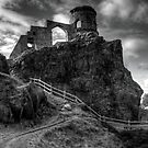 Mow Cop Castle by Charles Howarth