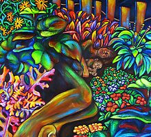 Sleeping in the Garden by Erika  Hastings