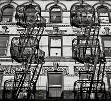 EV fire escapes by viktoriabegg