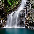 Hiji Falls Close-Up, Okinawa, Japan by jswolfphoto