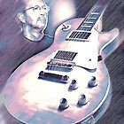 Les Paul & Eric Clapton by Brandon Batie