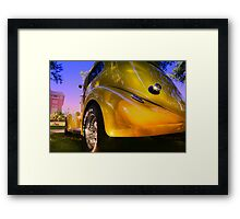 """ A Yellow Rose "" Framed Print"