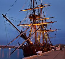 HMB Endeavour by Barb Leopold