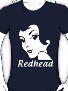 Miss Redhead (text) [iPhone / iPad / iPod case   Tshirt   Print] T-Shirt