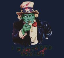 Uncle Sam Zombie (I Want Your Brains) by ibukimasta