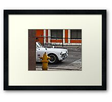Vrooooom.... Framed Print