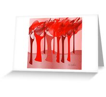 Redscape 2 Greeting Card