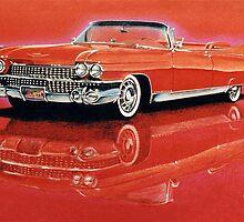 1959 Cadillac Eldorado Biarritz by brianrolandart