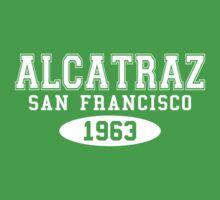 Alcatraz San Francisco 1963 Kids Clothes
