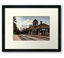 Snoqualmie Depot Framed Print
