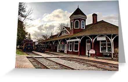 Snoqualmie Depot by Dale Lockwood