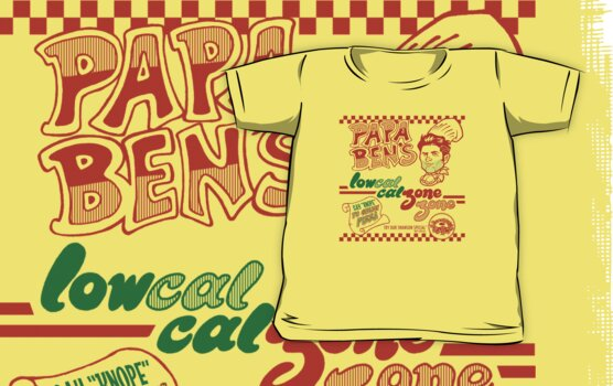 Papa Ben's Low-Cal Calzone Zone by Tom Kurzanski