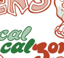 Papa Ben's Low-Cal Calzone Zone Sticker