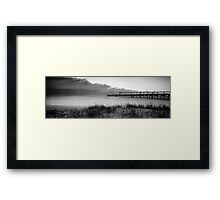 The Ghost Surfer Framed Print