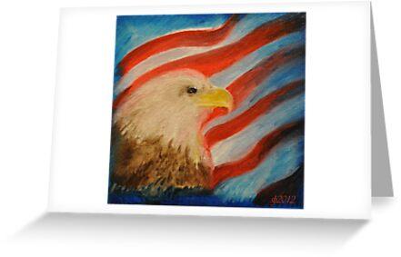 Eagle Glory by budrfli