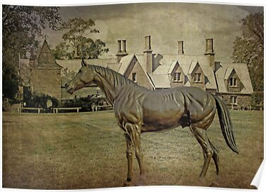 Vintage Stallion at the Grange by TonyCrehan