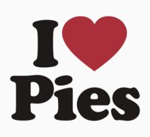 I Love Pies by iheart