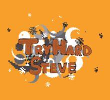 TryHardSteve | Basic logo T-Shirt