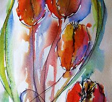 four tulips by lalik