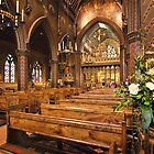 Flowers at St. Giles by hebrideslight