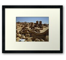 The Muppets, but not as we know them. Framed Print