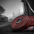 Coiled Fire Hoses by Brian Barnett