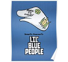 Lil' Blue People Poster
