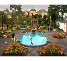 Wedding at Portmeirion Village Photographic Print