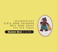 Asterperious - 319th SQ - 90th BG - 5th AF Emblem (Black) by warbirdwear