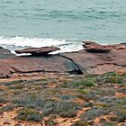 Mushroom Rock at Kalbarri by Graeme  Hyde