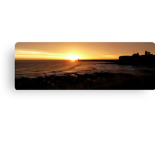 Sunrise at the Priory Canvas Print