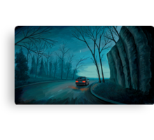 Night Ride Canvas Print