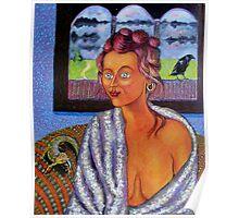 My Candid Mona Lisa Poster