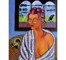 My Candid Mona Lisa Photographic Print