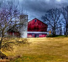 The red barn by carlosramos