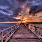 Point Lonsdale Pier HDR by Danielle  Miner