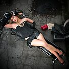 1946 Harley Pin Up... by Rita  H. Ireland