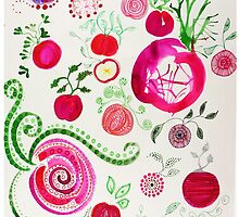 Radishes by alicebardgett