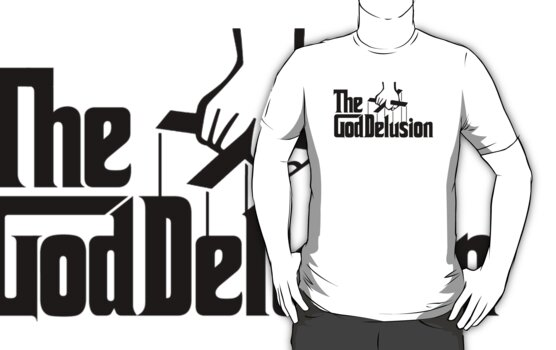 The God Delusion logo by Neil Davies