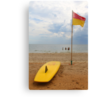 Swim Between The Flags Canvas Print