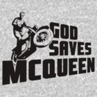 God saves McQueen by dutyfreak
