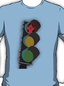 Middle Earth Traffic Light T-Shirt