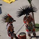 Aztec Dancers at the Malecón  by PtoVallartaMex