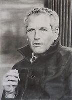 Paul Newman by Mike O'Connell