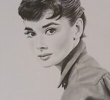 Audrey Hepburn by Mike O'Connell