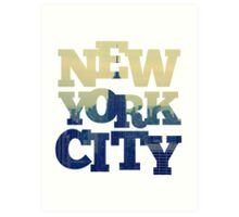 Empire State of NYC Art Print