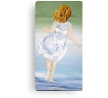 Carefree - Acrylic on Canvas Canvas Print